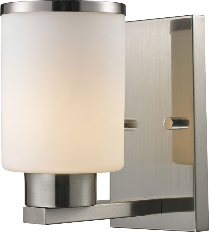 Z-Lite 706-1S-BN Roxburgh Brushed Nickel Wall Lighting. Loading zoom & Z-Lite 706-1S-BN Roxburgh Brushed Nickel Wall Lighting - ZLT-706-1S-BN