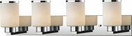 Z-Lite 707-4V-CH Roxburgh Chrome4-Light Bath Lighting Fixture