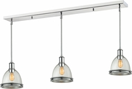 Z-Lite 719MP-3CH Mason Chrome Clear Seedy Multi Hanging Light Fixture