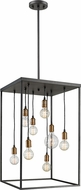 Z-Lite 8001-32BRZ Troubadour Modern Bronze 20  Foyer Lighting