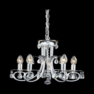 Z-Lite 852S Pearl Traditional Silver Mini Lighting Chandelier
