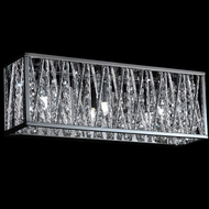 Z-Lite 872CH-3V-LED Terra Chrome LED 3-Light Bath Light Fixture