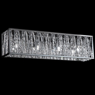 Z-Lite 872CH-4V-LED Terra Chrome LED 4-Light Bath Lighting Fixture