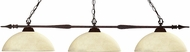 Z-Lite 88103BRZ-DGM14 Aztec Bronze Dome Golden Mottle Island Lighting