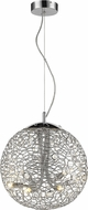 Z-Lite 889CH-14 Nabul Chrome Halogen Hanging Lamp