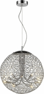 Z-Lite 889CH-18 Nabul Chrome Halogen Hanging Light