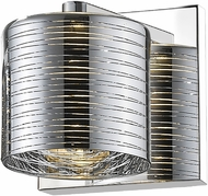 Z-Lite 911-1S-LED Sempter Contemporary Chrome LED Lighting Wall Sconce