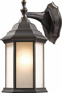 Z-Lite T21-ORB-F Waterdown Oil Rubbed Bronze Outdoor Wall Mounted Lamp