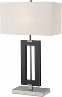 Z-Lite TL121 Serenity Contemporary Black Table Lighting