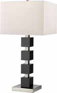 Z-Lite TL122 Serenity Modern Black Lighting Table Lamp