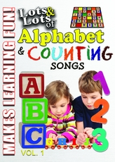 Lots and Lots of Alphabet and Counting Songs for Kids