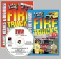 LOTS and LOTS of FIRE TRUCKS 2 DVD SET Plus FREE  Audio CD -  As Seen On TV! - Offer Not In Stores!
