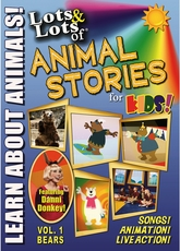 Lots & Lots of Animal Stories for Kids Vol 1 - Bears