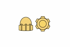 1.3mm Gold