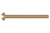 10mm x 1.2mm Phillips Gold x100