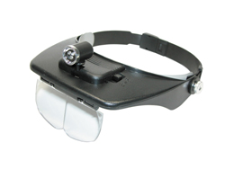Headband Magnifier with LED Light