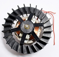 Motor with Fan for Hot Air Warmer