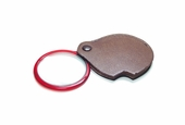 PEER Pocket Magnifier with Attached Leather Case