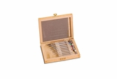 Set of Precision Screwdrivers in Wood Box