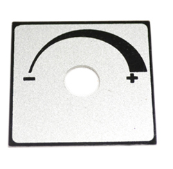 Temperature Indicator Plate for Hot Air Warmer