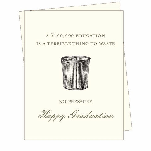$100,000 Education Card