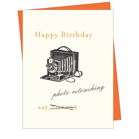 Birthday Camera Card