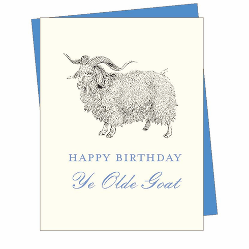 Birthday Goat Card