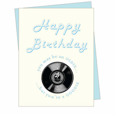 Birthday Oldie Card
