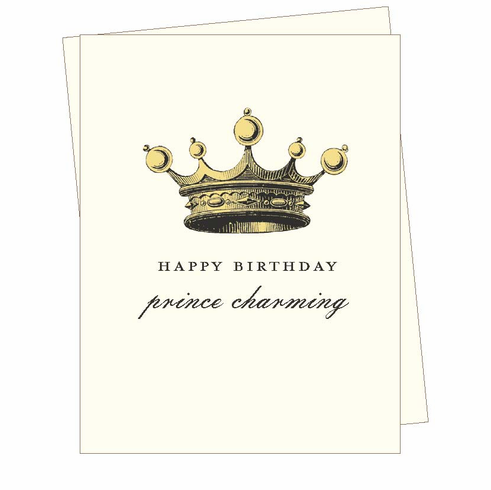 Birthday Prince Charming Card