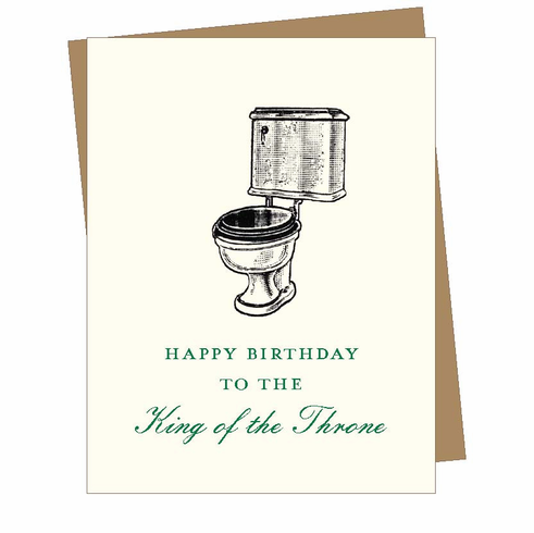 Birthday Throne Card