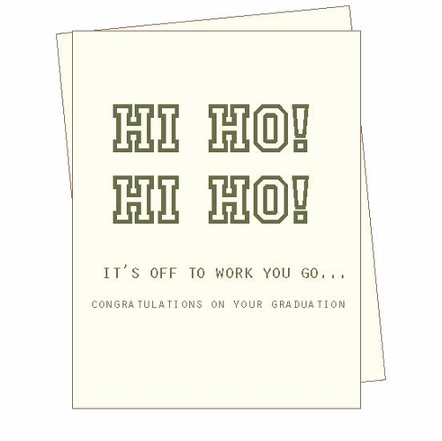 Congratulations Hi Ho Card