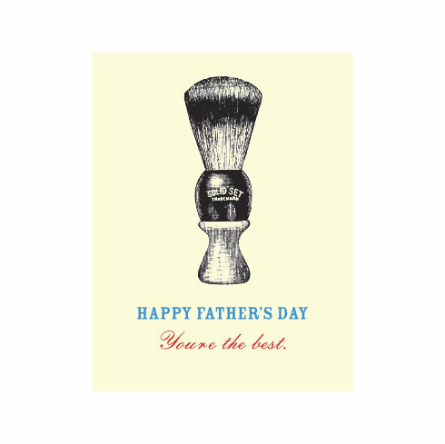 Father's Day Shaving Brush