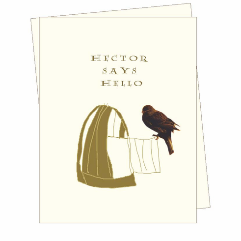 Hector Says Hello Card
