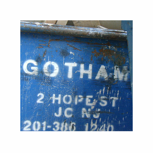 NYC Urban Alphabet Gotham