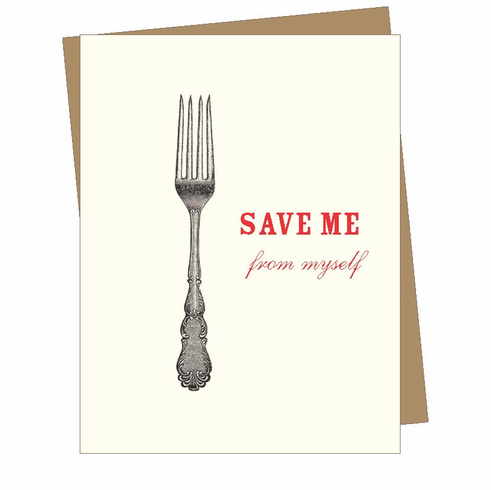 Save Me From Myself Card