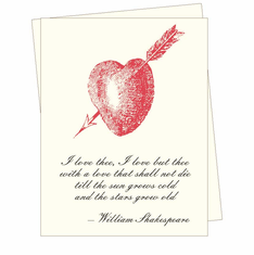 Shakespeare Card