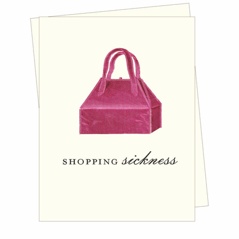 Shopping Sickness Card