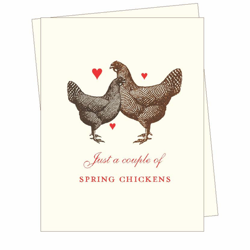 Spring Chickens Card