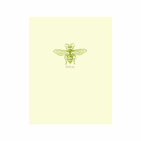 Thank You Bee - greeting card