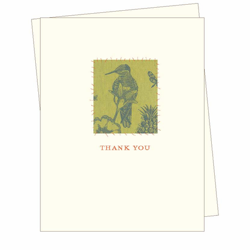 Thank You Bird Card
