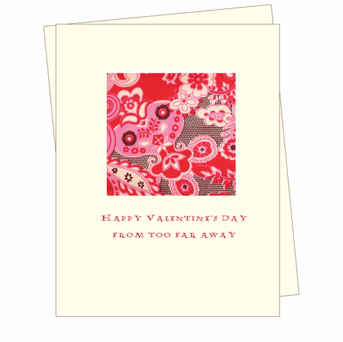 V-Day Missing You Card