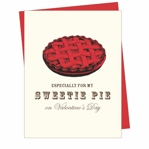 V-Day Sweetie Pie Card