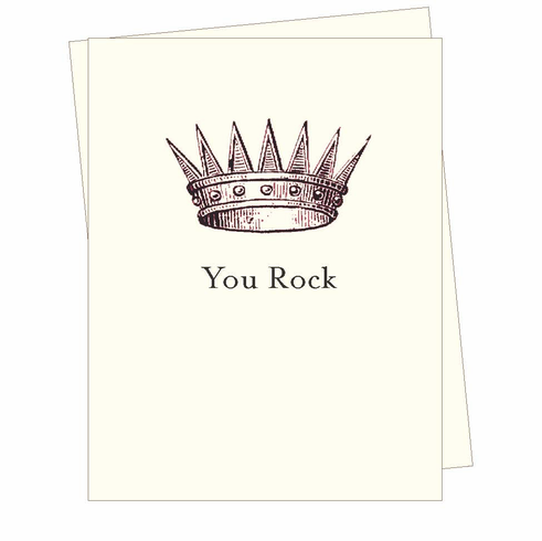 You Rock! Card
