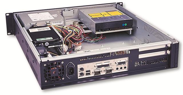"RM-2212 2U Rackmount Case 19.7"" Deep, Fits PS2 Power Supplies"