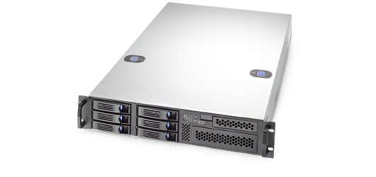 RM21706 - 2U 6 Hot-Swappable Hard Drive Trays General Purpose Server Chassis