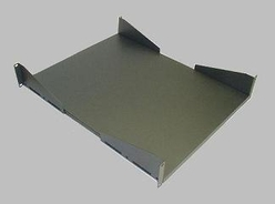 RS-02-27 2U Fixed Shelf 27 Inch Deep Plate