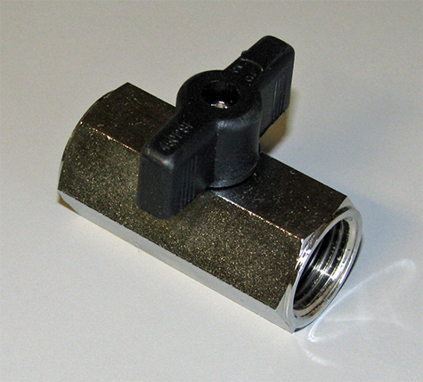 Air Shut-Off Valve For Trailer Gladhand Lines, 285172