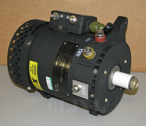 Alternator 100 Amp Dual Voltage 28/14 Volt For M1078 LMTV, (Niehoff N1509-1) 12422863