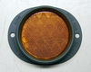 Amber Reflector, 3 Inch Lens, 383 Green Metal Frame, MS35387-2