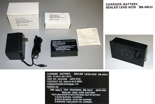 Battery Charger For BB-490/U (new/unused)